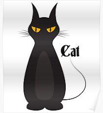 CAT | BLACK CAT Poster