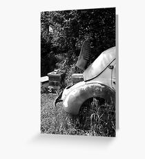 Renault 4 CV - Dauphine - Bee Hive Greeting Card