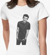 Mendes illustration Women's Fitted T-Shirt