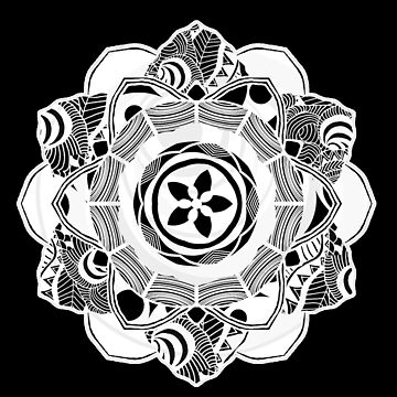 White Spirit Mandala by mayuskimbe