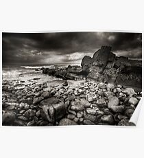Rocky, Caithness, Scotland Poster