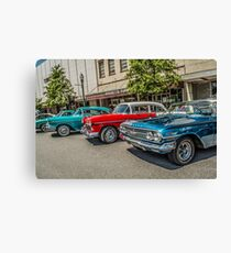 Classic Lane Canvas Print