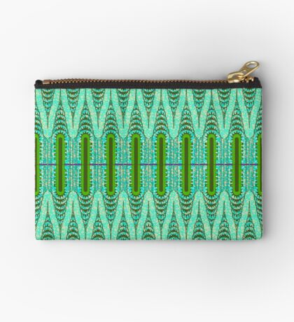 THE CHRYSLER BUILDING Green & Mint Studio Pouch
