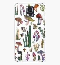 Mushrooms pattern Case/Skin for Samsung Galaxy