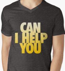 Can I Help You Men's V-Neck T-Shirt