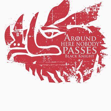 AROUND HERE NOBODY PASSES by nando-ss