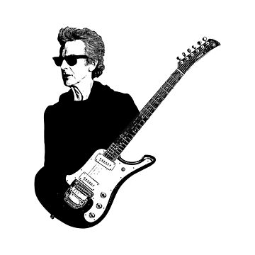 Twelfth Doctor & Guitar by gelfmattman