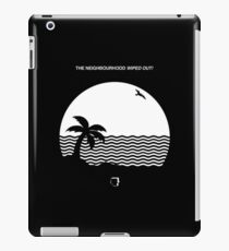 the neighbourhood wiped out album cover iPad Case/Skin