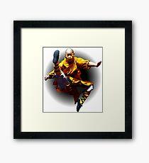 Shaolin Monk -Waaaaaaaaaaaaaah ! Framed Print