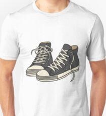 Grey Converse Unisex T-Shirt