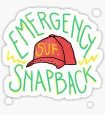 Sufjan's Emergency Snapback Sticker