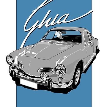 Karmann Ghia by limey57