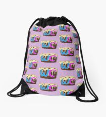 Weirdocraft icon Drawstring Bag