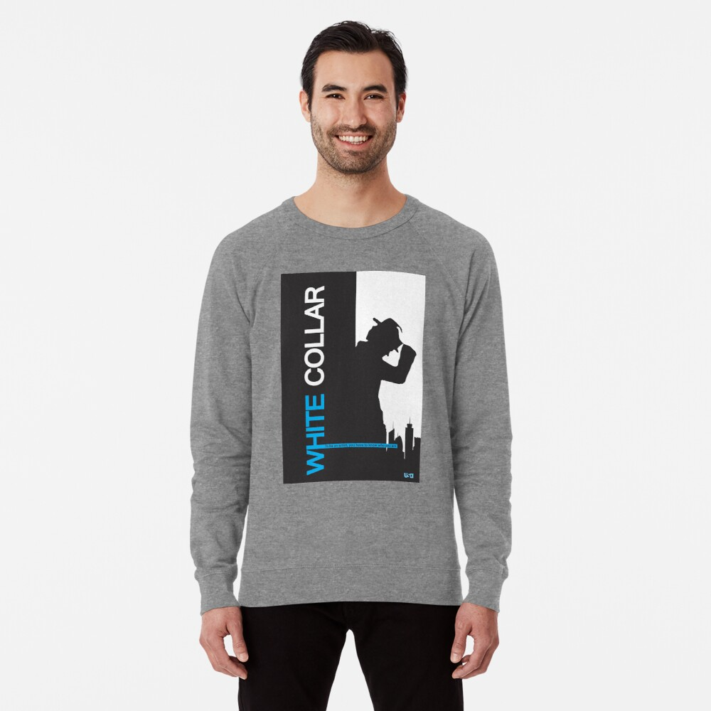 White Collar Lightweight Sweatshirt