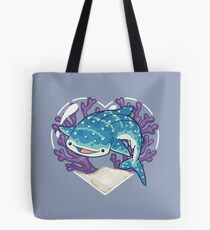 NOM the Whale Shark Tote Bag