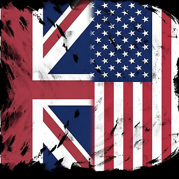 British UK American USA Flag by OldGlory