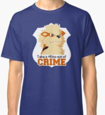 Take a Bite Out of Crime Classic T-Shirt