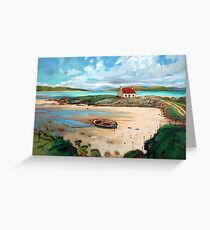 Ardmhor, Barra Greeting Card