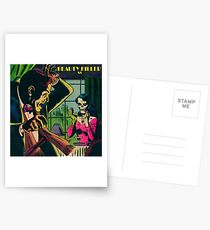 Retro comics Postcards