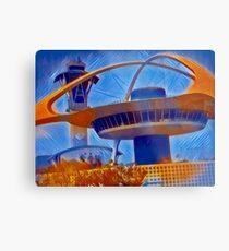 """LAX Control Tower""  Metal Print"