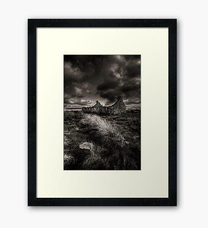 Old Croft, Caithness, Scotland Framed Print