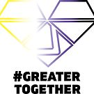 Nonbinary Pride - #GreaterTogether 2018 PRIDE by GTGamesLLC