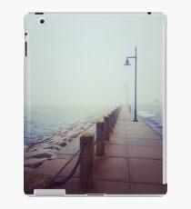 A Foggy Pier iPad Case/Skin