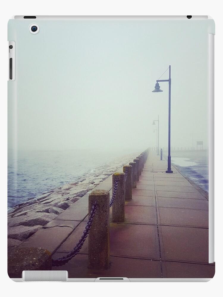 A Foggy Pier by jmprovost