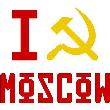 I Love Moscow by qqqueiru