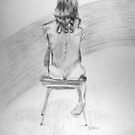 Model in a Chair by annimoonsong