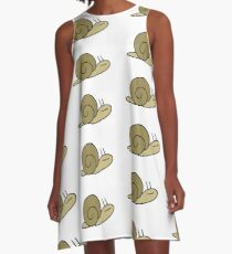 Snail A-Line Dress