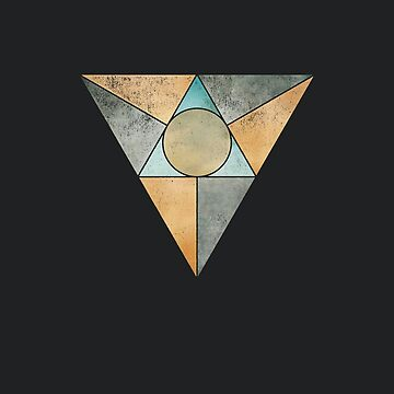 Geometric Triangles - Abstract Geometry  by directdesign