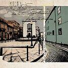Porto - vintage card by ariadna de raadt