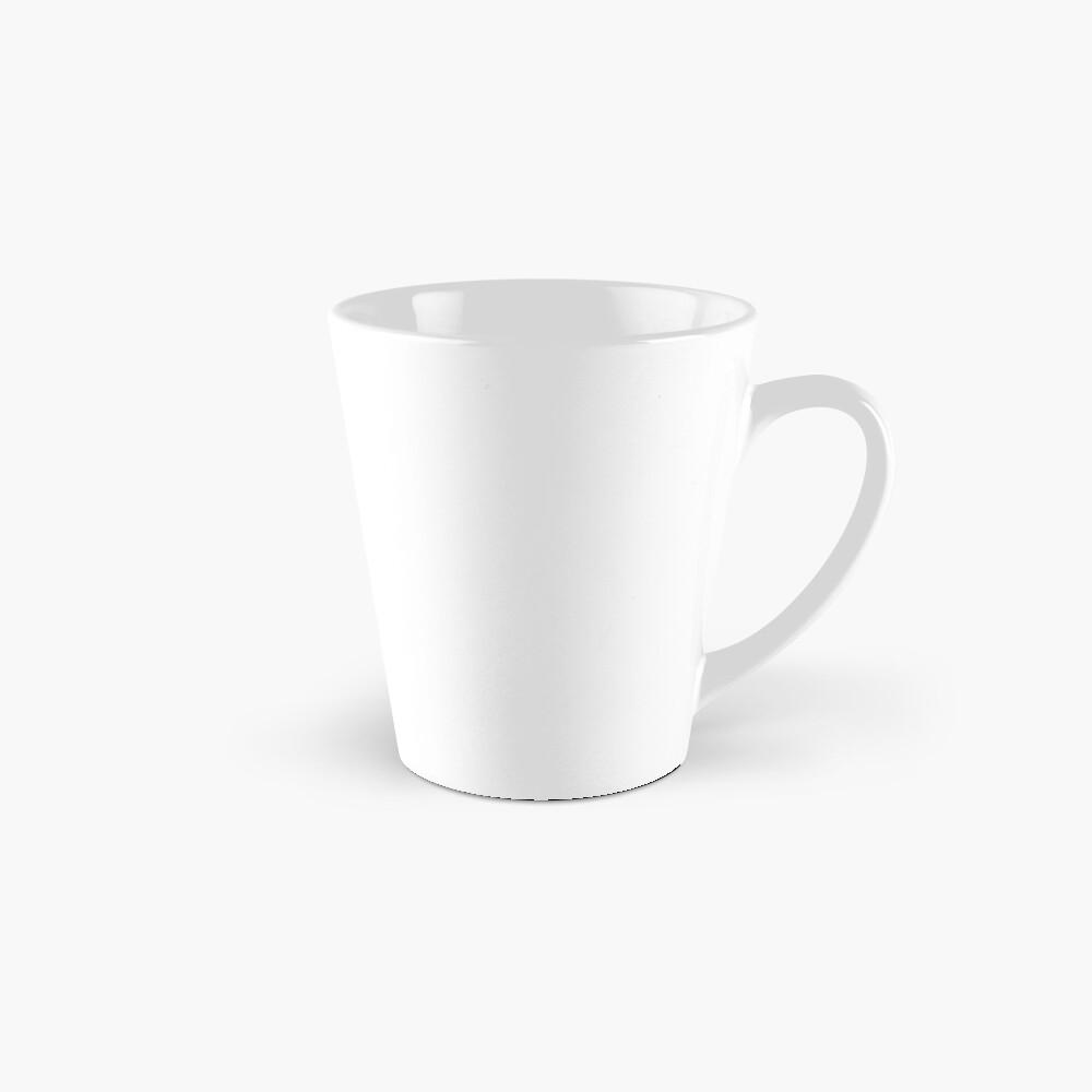 LASSEN SIE NICHT DIE HARTEN TAGE GEWINNEN (geometrisches Aquarell) Tassen