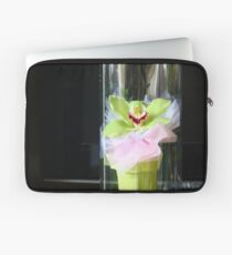 Green Orchid Laptop Sleeve