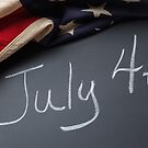July 4th Sign by PixLifePhoto