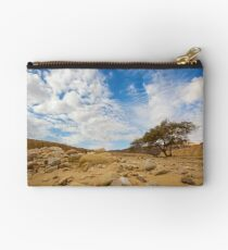 Enduring Acacia tree survives in the Desert Studio Pouch