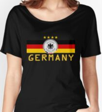 Germany World Cup Team 2018 Women's Relaxed Fit T-Shirt
