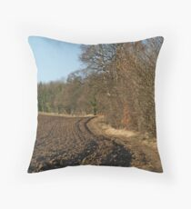 Footpath to Farnley Throw Pillow