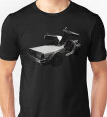 Back to the Future Delorean Marty mcfly 80s film Graphic Tee Retro design Unisex T-Shirt