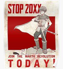 Marth Propaganda Poster Poster