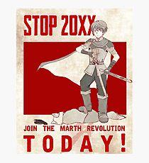 Marth Propaganda Poster Photographic Print