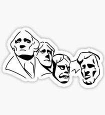 Rushmore Facade Sticker