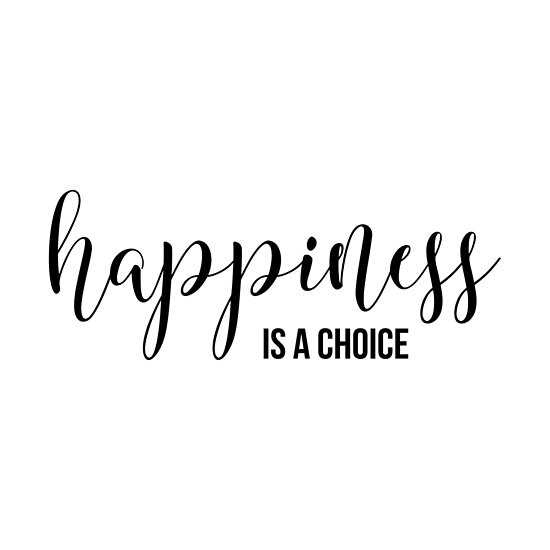 Inspirational Quote Happiness Is A Choice Posters By In3pired