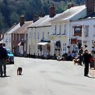 Afternoon in Dunster by Dave Law