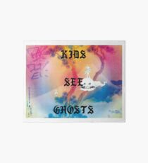 Kids See Ghosts Album Cover Art Board
