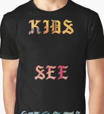 Kids See Ghosts Album Graphic T-Shirt