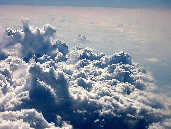 Thunderstorm From Above by Leslie van de Ligt