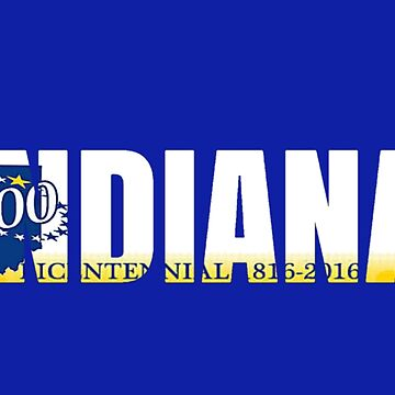 Indiana License Plate by VsTheInternet