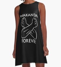 Black Panther - Wakanda Forever A-Line Dress